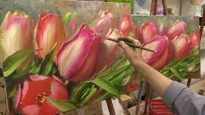 <b>Весеннее тюльпаны</b>. Мастер-класс. Tulips. Master class by Oleg ...