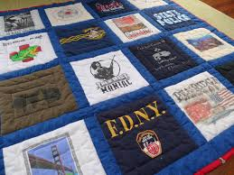 finished t shirt quilt