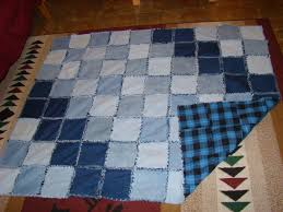 Denim Rag Quilt – Mystic Handworks & I had several colors and styles of denim. I didn't want them to go together  all Willie Nilley, so I laid them out on the floor to audition them, ... Adamdwight.com