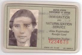 history of the green card in the united