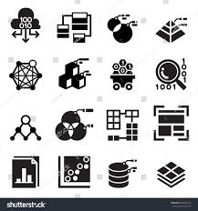 Data Mining Technology Data Icon Data Stock Vector Royalty