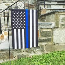 american garden flag.  American Thin Blue Line American Garden Flag  125 X 18 Inches  USA For I