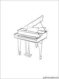 Kleurplaten Piano Gratis Kleurplaten
