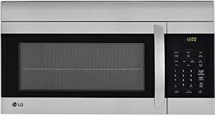 above oven microwave. Ft. 1000W Stainless Over-the-Range Microwave Oven Above