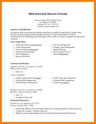 9 Sample Intern Resumes Mla Cover Page