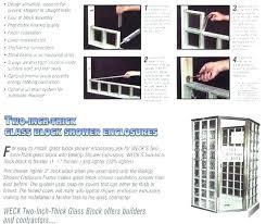 glass block windows installation installing glass block windows image titled install glass block windows step installing