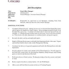 front desk dental office job description