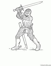 knight coloring book save coloring page knight with a two handed sword