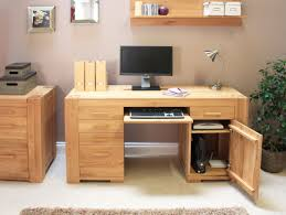 home office furniture for two. Warm Solid Oak Desks For Home Office Furniture Sets : Awesome Small Two L