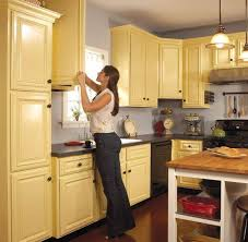 cabinet painting ideasPainted Kitchen Cabinet Ideas  Home Design Ideas and Pictures
