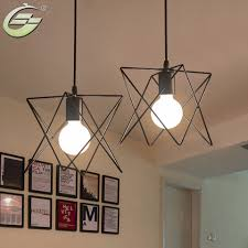 vintage pendant lighting fixtures. Retro Iron Cage Lampshade Indoor Lighting Vintage Pendant Light Fixture For Home Decor, Black Hanging Lamp With G80 40W Bulb-in Lights From Fixtures E