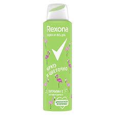 <b>Дезодорант</b> женский <b>Rexona</b> цветочный спрей, 150 мл | Магнит ...