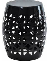 black garden stool. Fine Stool Artisan Black Garden Stool Side Table Artisan Stool   Table Throughout