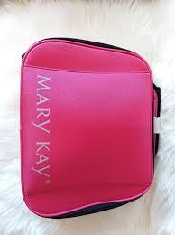 mary kay new beauty um to large makeup storage case
