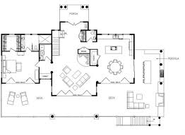 139 Best Log Cabin Plans Images On Pinterest  Architecture Log Open Log Home Floor Plans