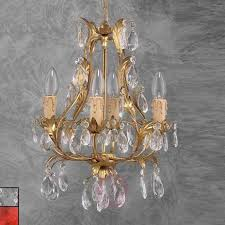 pisa noble chandelier gold