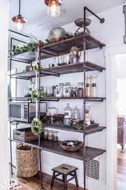 Brilliant Kitchen Storage Shelves Ideas Best 25 Metal Kitchen Shelves Ideas  On Pinterest