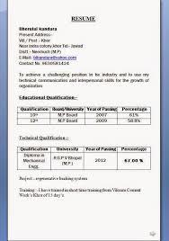 diploma resume model