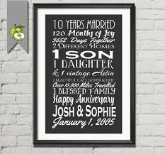 10th wedding anniversary gift luxury year ideas for husband of phenomenal couples india him 10 uk
