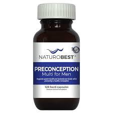 Preconception <b>Multi For Men</b> - NaturoBest - Male Pre Conception ...