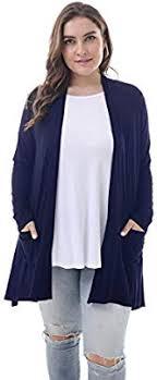 Zerdocean Size Chart Zerdocean Womens Plus Size Long Sleeve Lightweight Soft