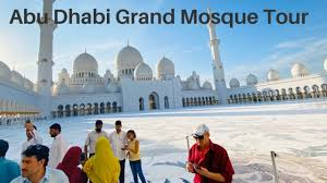 Abu Dhabi Grand Mosque Tour
