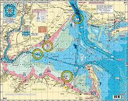 Home Port Chart 42 Raritan Bay Out 20 Miles Jones Inlet To Manasquan Inlet