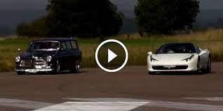 45 år gammal volvo spöar ferrari på racingbana! Ever Been Surprised By A Sleeper Check This 1967 Volvo Amazon Vocks Vs Ferrari 458 Vs Ferrari 599 Gtb F1 Muscle Cars Zone