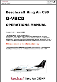 g vbcd beechcraft king air c90 operations manual ppt download Beechcraft C90 Specifications at Beechcraft C90 Wiring Diagram