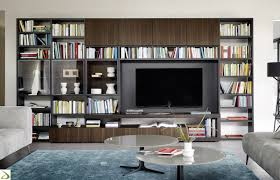 Angel design bookcase for the living room arredo design online