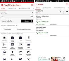 Das Telefonbuch - Android App - Download - CHIP