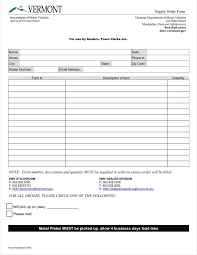 Order Check Registers 40 Order Form Templates Work Change More Business Consent Templa