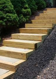 patio steps pea size x: diy outdoor staircase decks outdoor living patio stairs