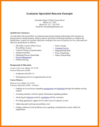11 Summary Example For Resume Mbta Online