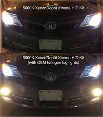 4300k vs 5000k hid color temperature comparison bmw luxury touring community