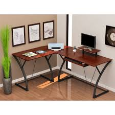 home office corner desks. Elegant Corner Home Office Desks Design : Fresh 10073 Curved L Shaped Desk Narrow Rustic Big Set