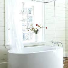 bathtub shower curtain rod remarkable ideas bathtub shower curtain rod s tub clawfoot tub shower curtain