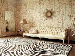 animal skin rug decoration brown and white zebra rug animal print wool rugs calf hair rug animal skin rug
