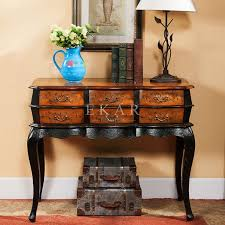 Antique Foyer Table Tables Furniture Baroque Side Deco Vintage Church