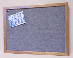 fabric pin board. Plain Pin Large Framed Gray Fabric Bulletin Board  Grey Burlap Pin Board Wood  Frame Recycled Office Decor  Memo Message Inside A