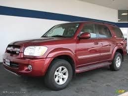 2006 Salsa Red Pearl Toyota Sequoia SR5 4WD #33146524 | GTCarLot ...