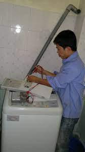 Sửa máy giặt Sanyo lỗi EA, EC
