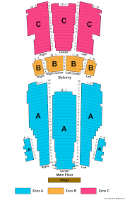 Moore Theatre Seating Chart Moore Theatre Seattle