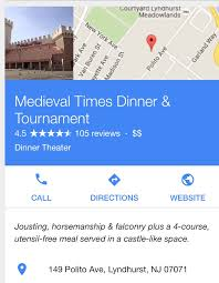 Medieval Times Lyndhurst Seating Chart Medieval Times Menu Nj Appliance Warehouse Coupon Code