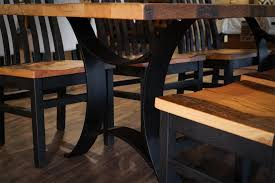Reclaimed Wood Golden Gate Dining Table - Dining room tables reclaimed wood