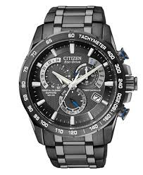 citizen men s chronograph eco drive gray ion plated stainless citizen men s chronograph eco drive gray ion plated stainless steel bracelet watch 43mm at4007