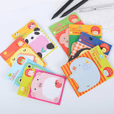 <b>5pcs</b> Schedule Page Marker Planner <b>Cartoon</b> Sticky Note Zoo ...