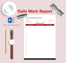 Daily Report Template Free Word Excel Format In For Construction
