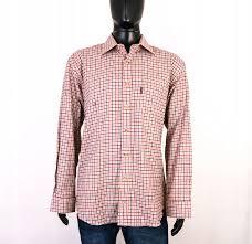 Barbour Size Chart Mens Details About W Barbour Mens Shirt Tailored Checks Size Xl