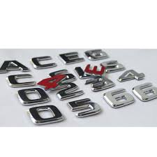 Aliexpress.com : Buy Newest Chrome ABS Rear Trunk Letters Badge ...